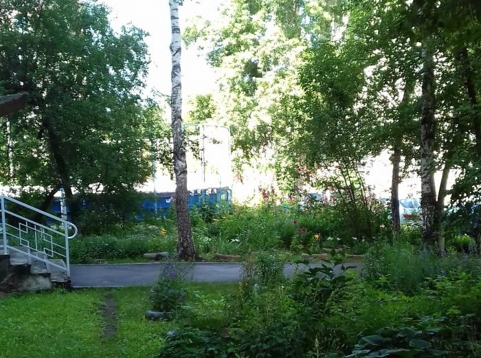 Половину зелёной зоны во дворе уберут ради строительства парковки