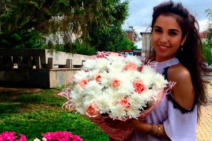 Сарафроз Эркинова родилась в Ташкенте, а сейчас учится на медика в НГУ
