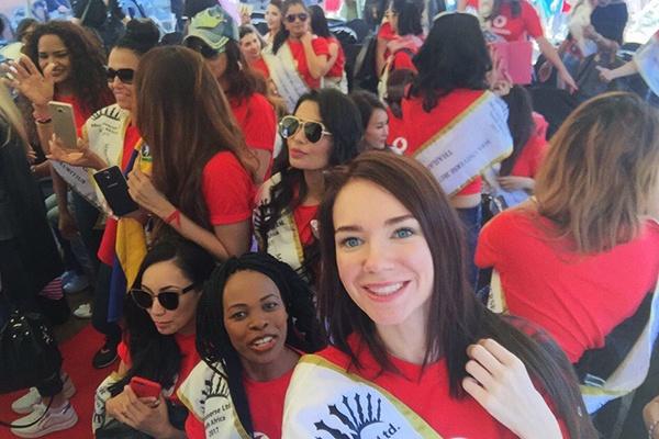 Ольга Быкова приняла участие в конкурсе «Миссис Вселенная», уже имея титулы миссис «Хрустальная корона Новосибирска» и вице-миссис «Россия-Вселенная»