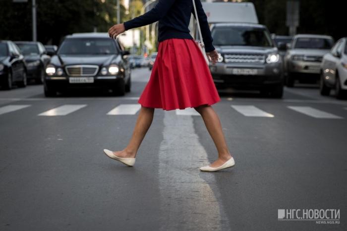 Девочку сбили рядом с пешеходным переходом
